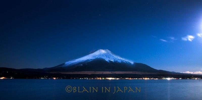 Twilight at Mt. Fuji