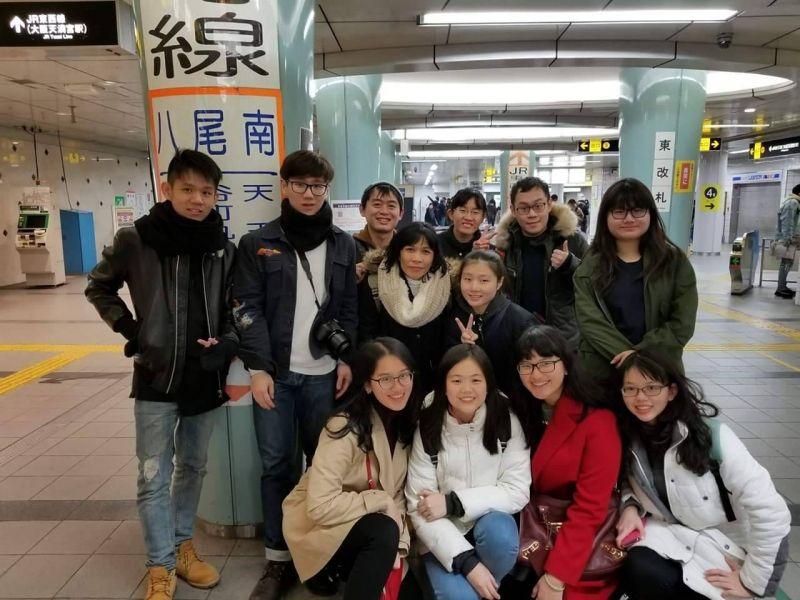 Full travel team in Osaka!
