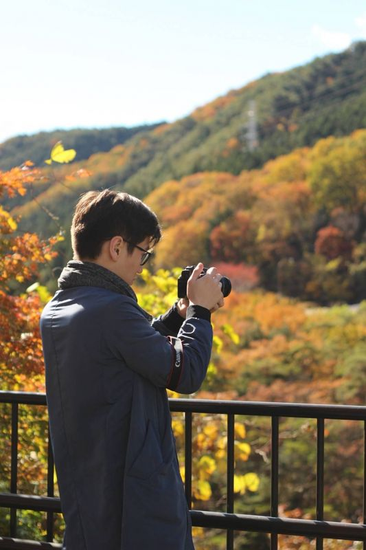 Enjoyed The yellowish and red colors of autumn in Nikko, Tochigi!