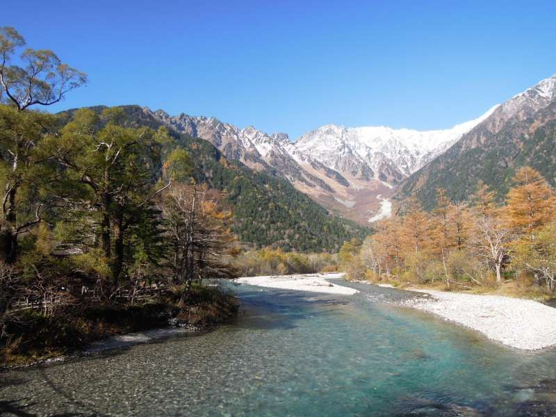 A view from Kappa Bridge, Kamikochi Highland