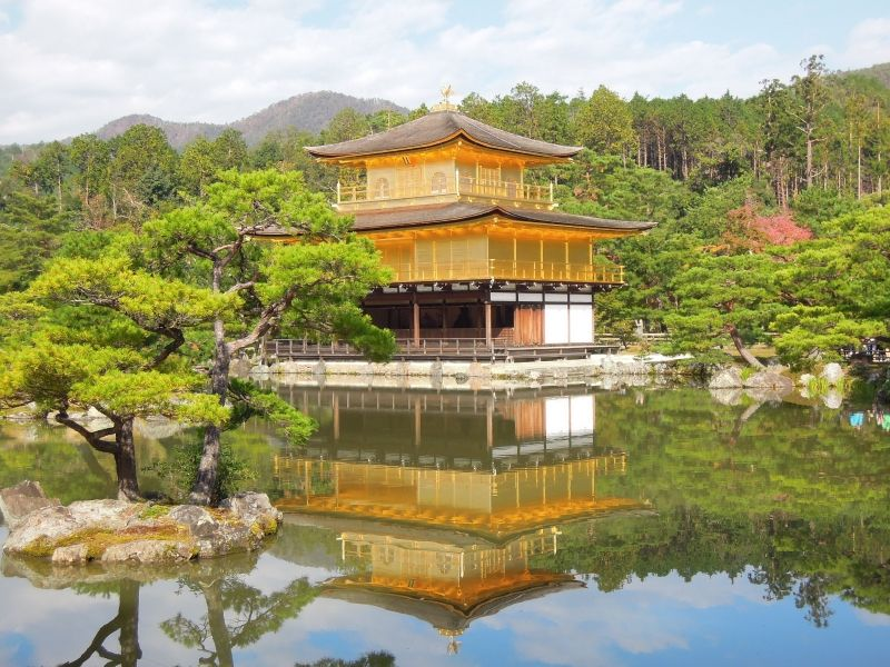 Kinkaku-ji Temple ( the Golden Pavilion )
