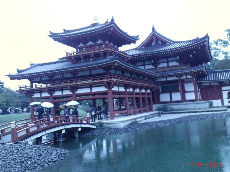 Kyoto / Uji byoudo-in   You will get it with 10yen-coin of Japan's currency.