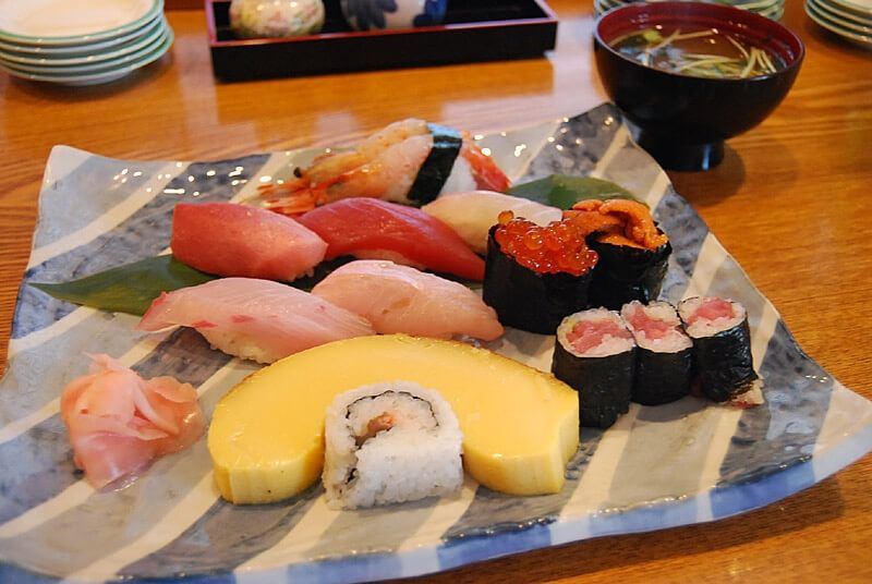 Choshi is one of the best palaces for sushi cuisine because there is the biggest and the best Fisherman's wharf in Japan