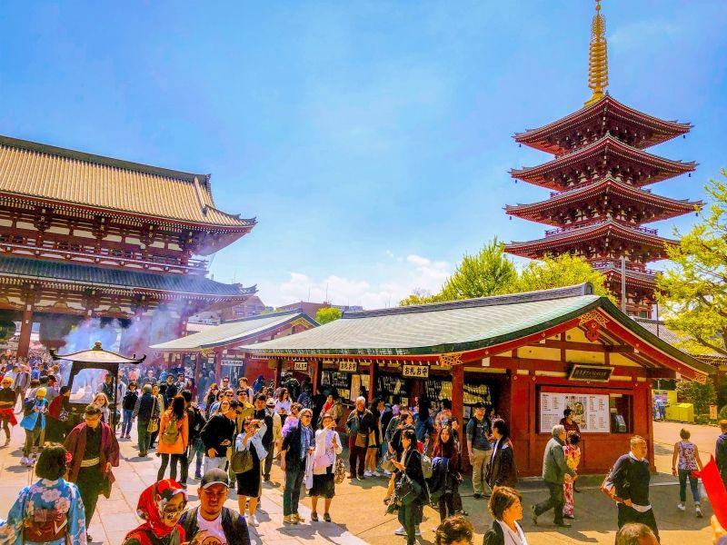 Sensoji Temple in Asakusa, Tokyo