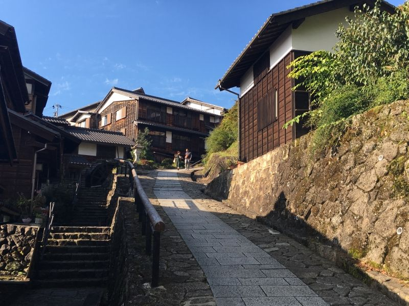 Magome-juku, Gifu prefecture. Old traditional village retaining 400 years ago life style was used as important post-town. Let's trip to good old Japanese Edo era!