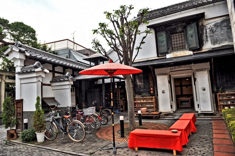 Traditional Coffee / Tea Shops along the back alleys of Kawagoe