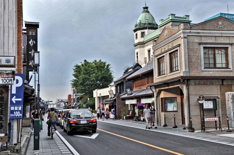 Main street of the