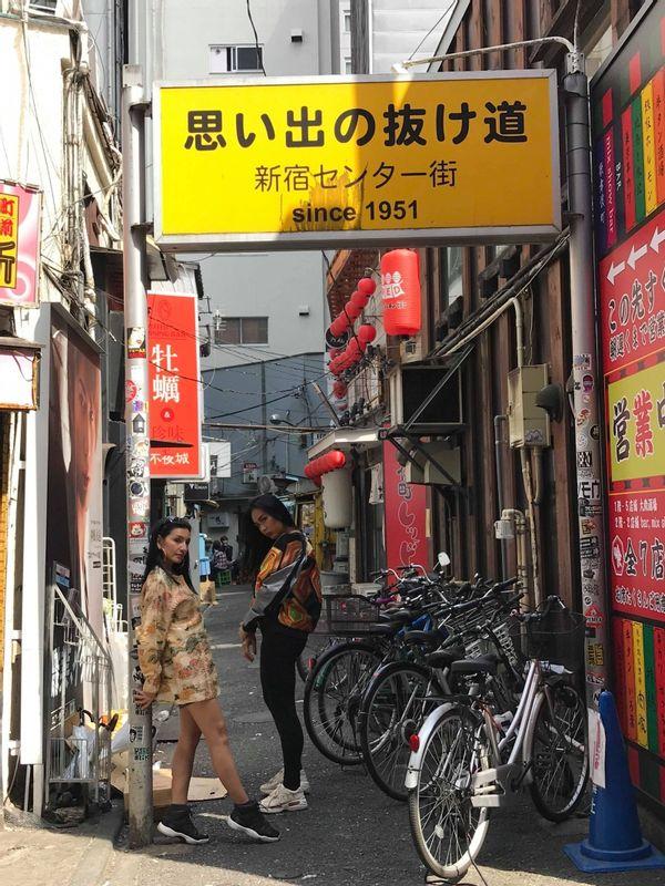 Omoide no Nukemichi - Shinjuku Senta-gai (Central Shinjuku) - Back alleys of the Shinjuku