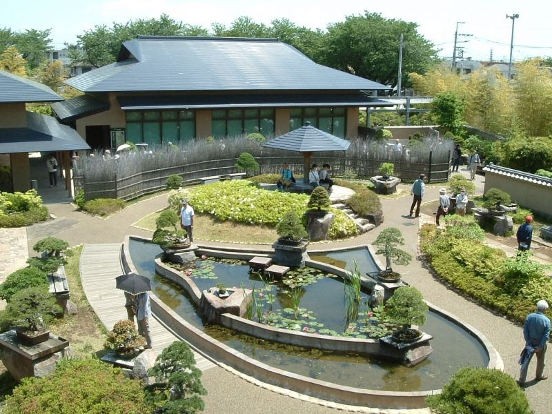 Saitama Bonsai Museum.