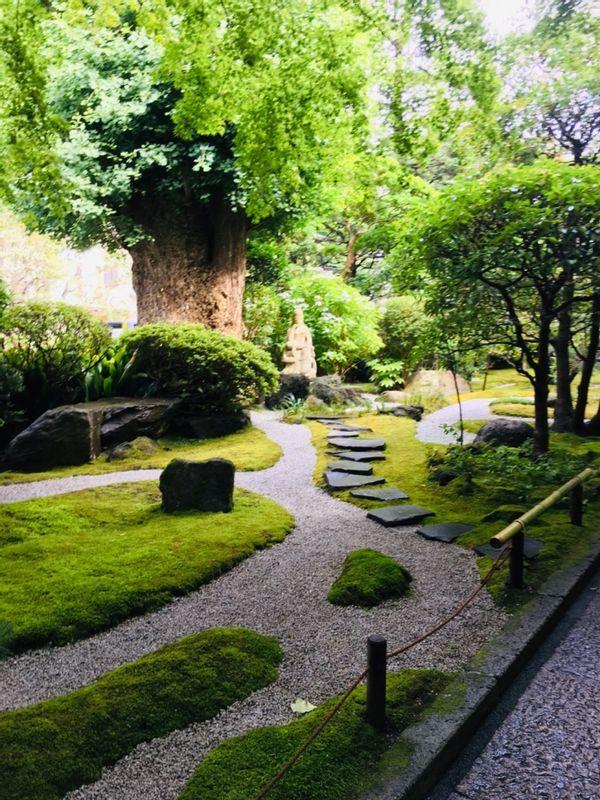 Entrance at Hokokuji Temple
