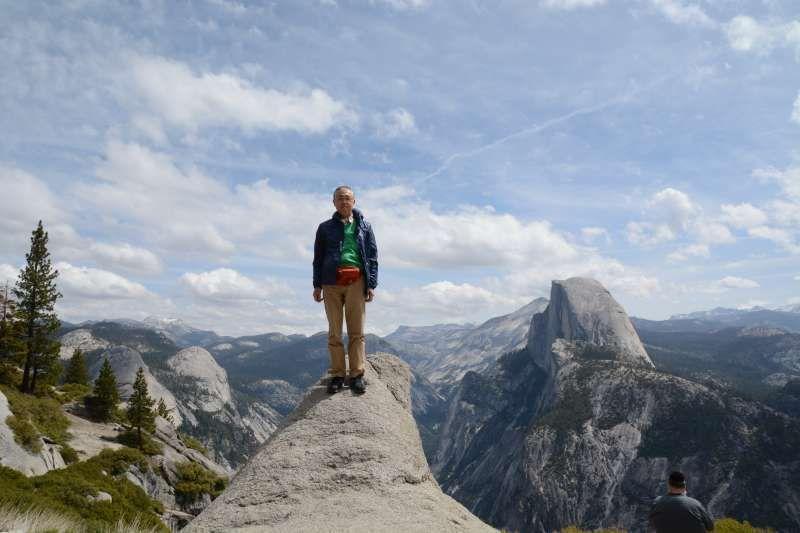 Glacier Point in Yosemite California U.S.A. in 2015