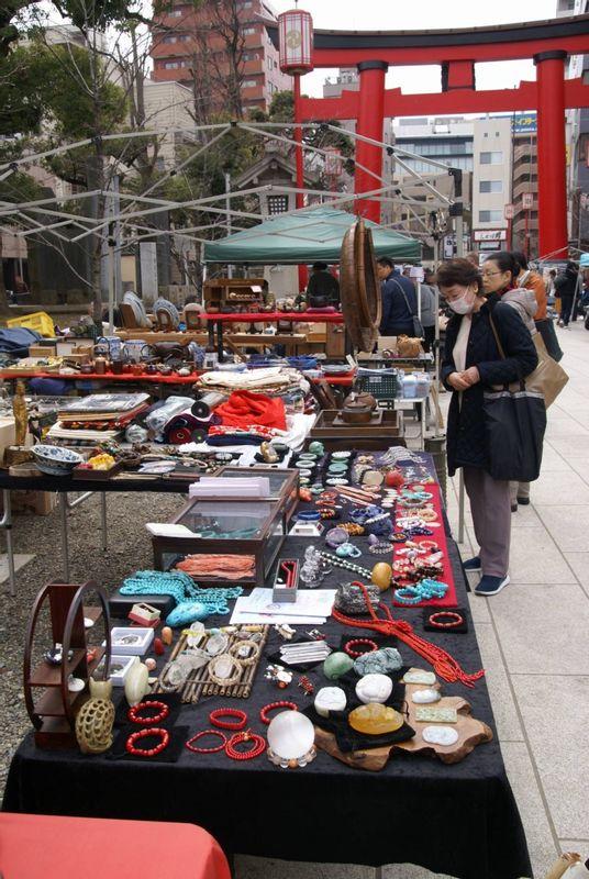 Flea Market at Fukagawafudoh