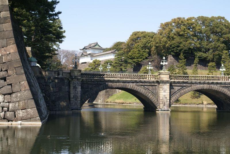Nijubashi bridge at the Imperial Palace