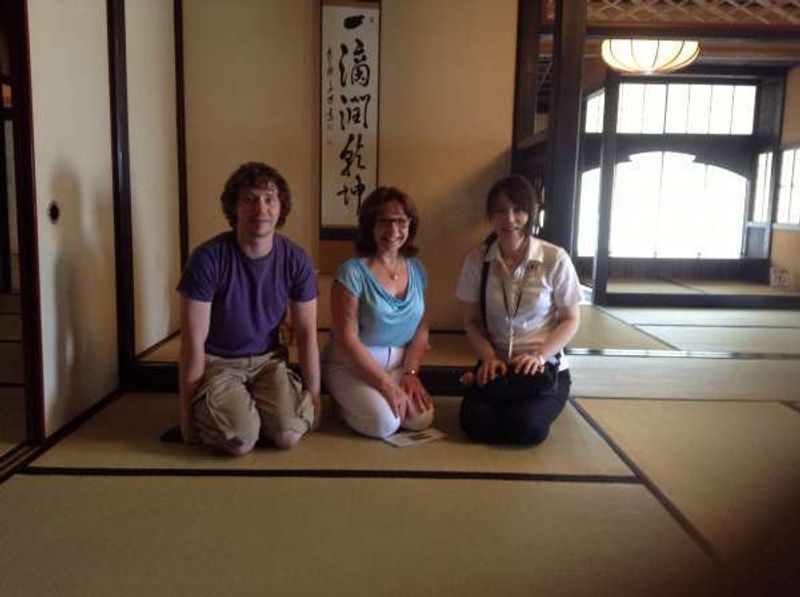 After tea ceremony