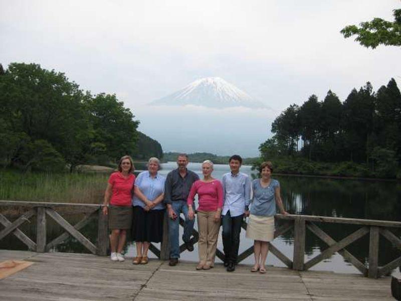 American group alongside the Lake Tanuki
