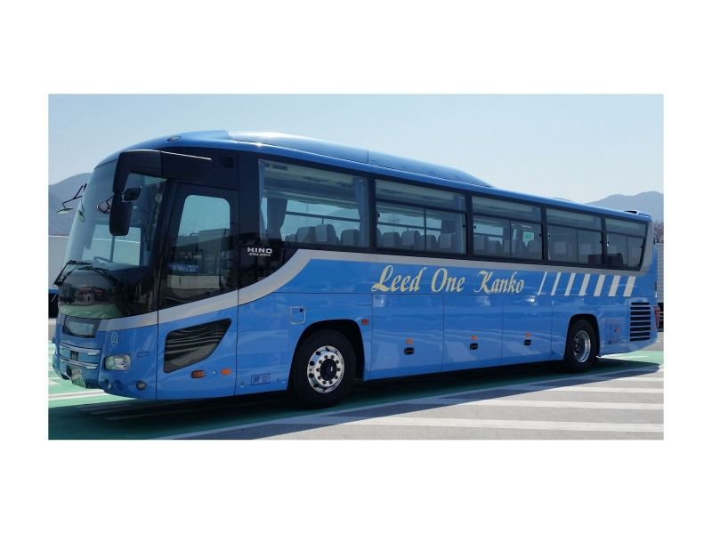 Large size bus: 45 + 8 seats