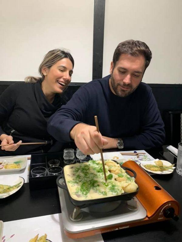 Takoyaki making experience