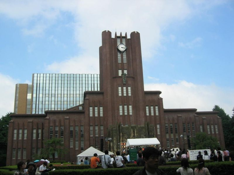 Tokyo University is  the best university in Japan. This site used to be the mansion of Daimyo (the feudal lord ) Maeda, whose domain was Kanazawa .  This photo is