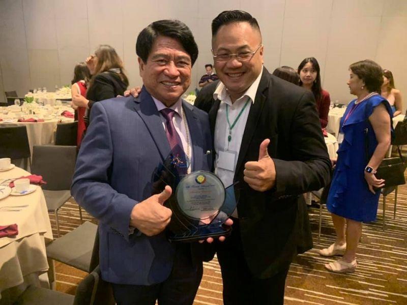 Award From Rotary Club Manila
