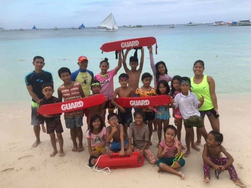 Sponsors of Swimming Equipments For Kids In Boracay