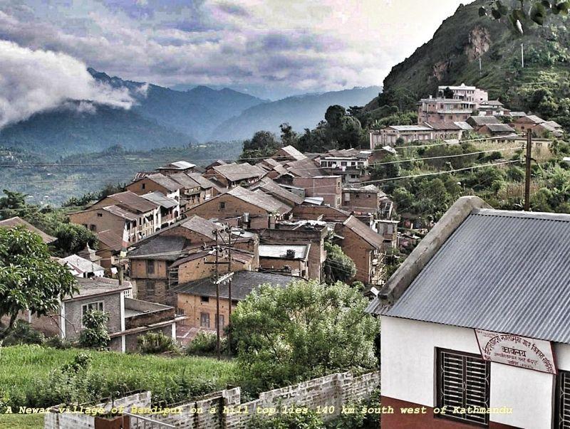 A typical Newar village of Bandipur.