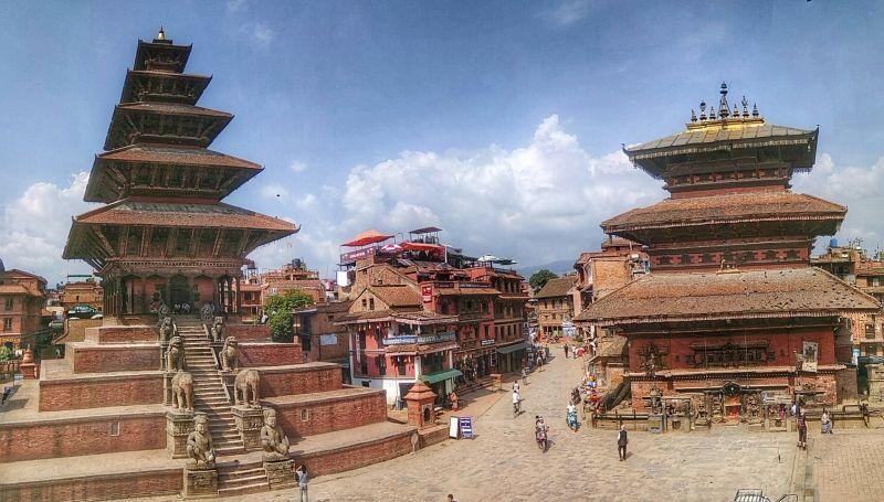 Bhaktapur Taumadhi Square.