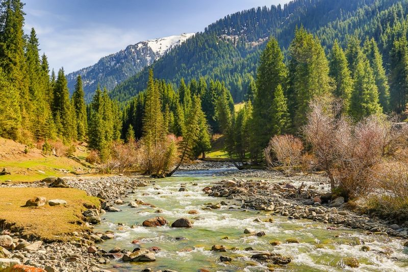 Karakol gorge. The photo that was taken by one of my good tourist Bhaskar Maitra from India.