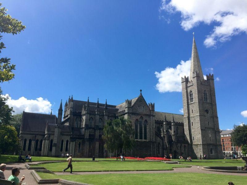 St. Patrick's Cathedral 聖パトリック大聖堂 アイルランド最大のカテドラル