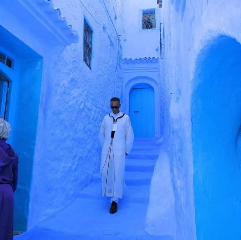 My city home Chefchaouen.