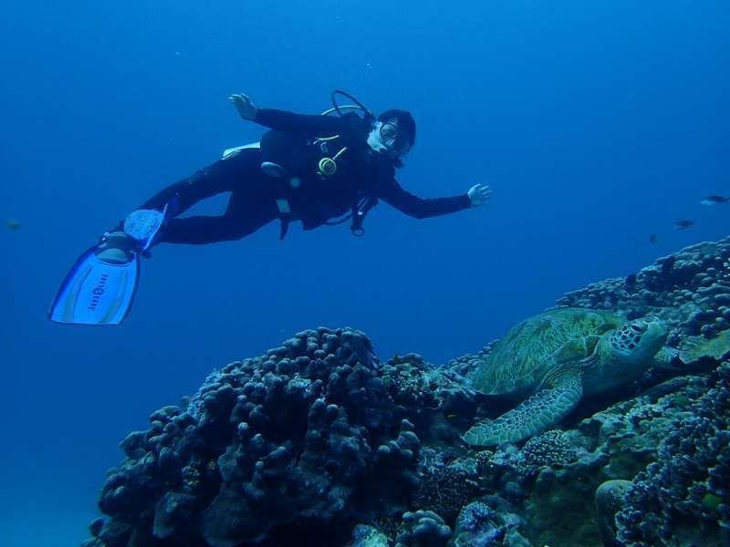 I'm a scuba diver too