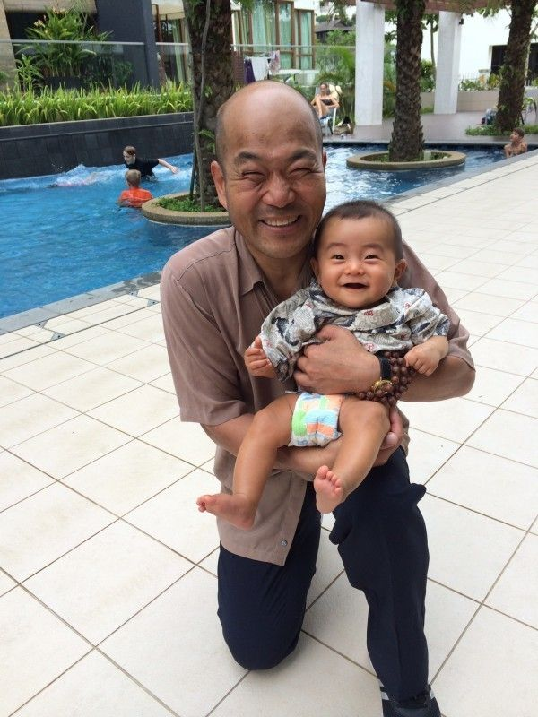 My part time job is baby sitter in Singapore.