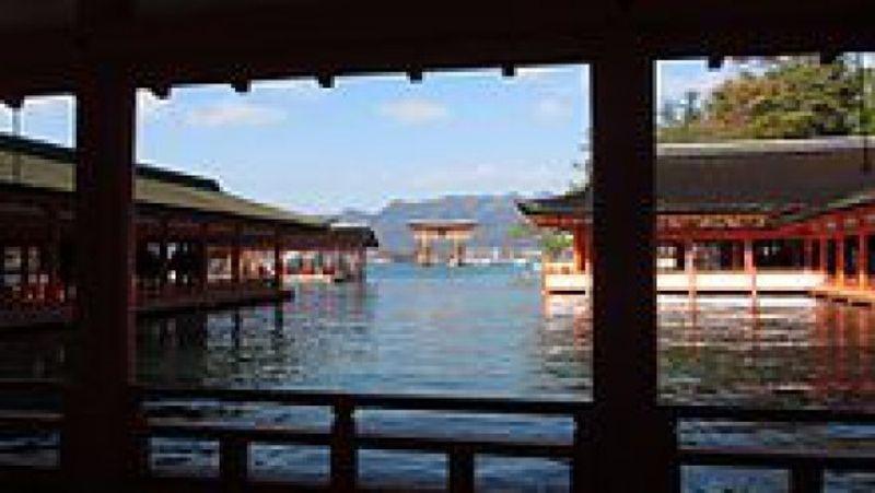 Miyajima (World Heritage), shrine island.