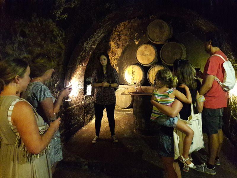 Rioja wine caves