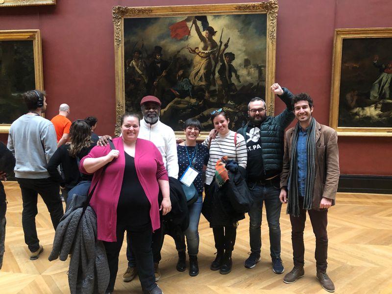 Delacroix, Lady Liberty leading the people, Musée du Louvre
