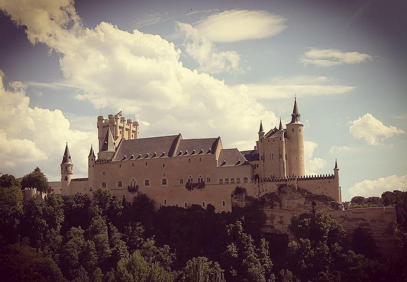 The Alcazar, our medieval castle