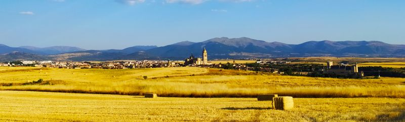 Segovia and our mountains