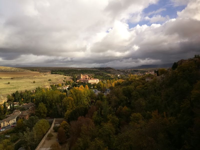 Monastery of El Parral in the Eresma Valley