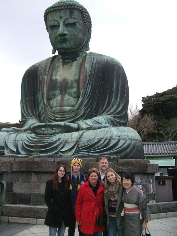 All together with Great Buddha