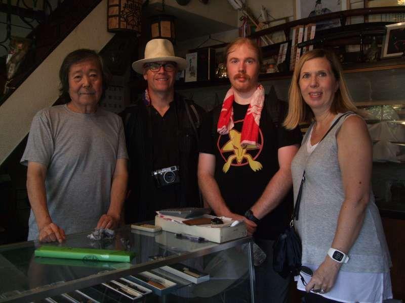 With swordsmith Mr.Tsunahiro, Masamune XXIV