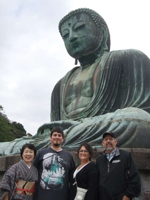 Great Buddha, the last destination of the tour