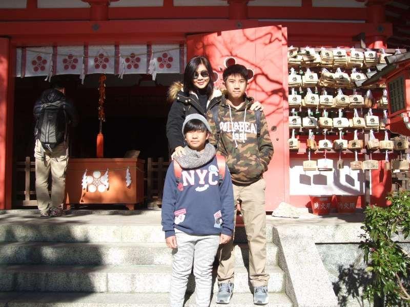 Egara Tenjin Shrine, where the deity of learning is enshrined