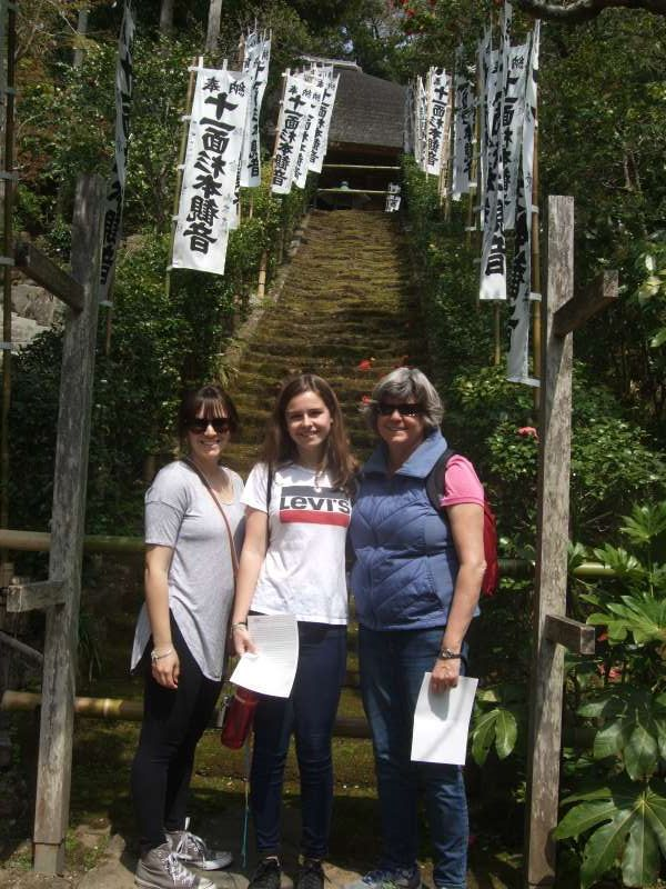 The popular photo spot of Sugimoto Temple, the oldest Buddhist temple in Kamakura