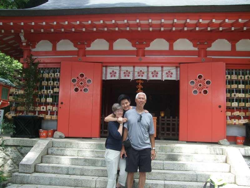 Egara Tenjin Shrine dedicated to the god of learning