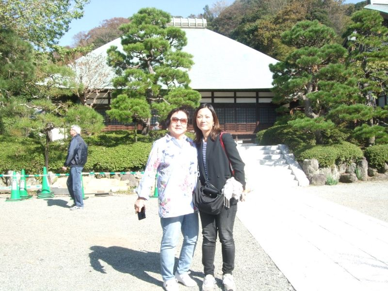 Our first stop, Jomyoji Temple, which ranks the fifth of the great Zen Temples in Kamakura