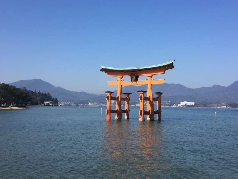 The Great Vermilion Gate of Itsukushima Shrine