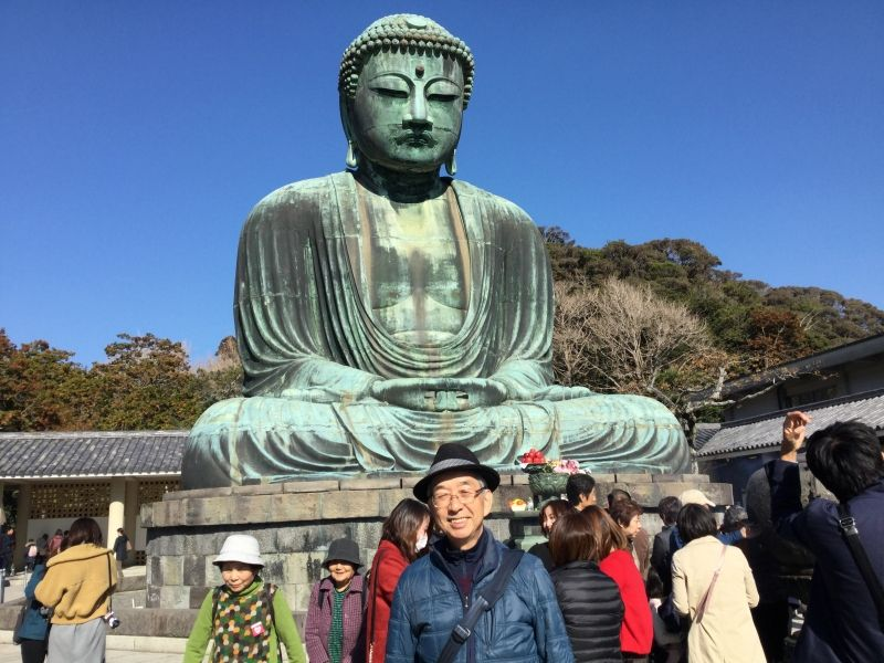 Kamakura tour, The great Buddha