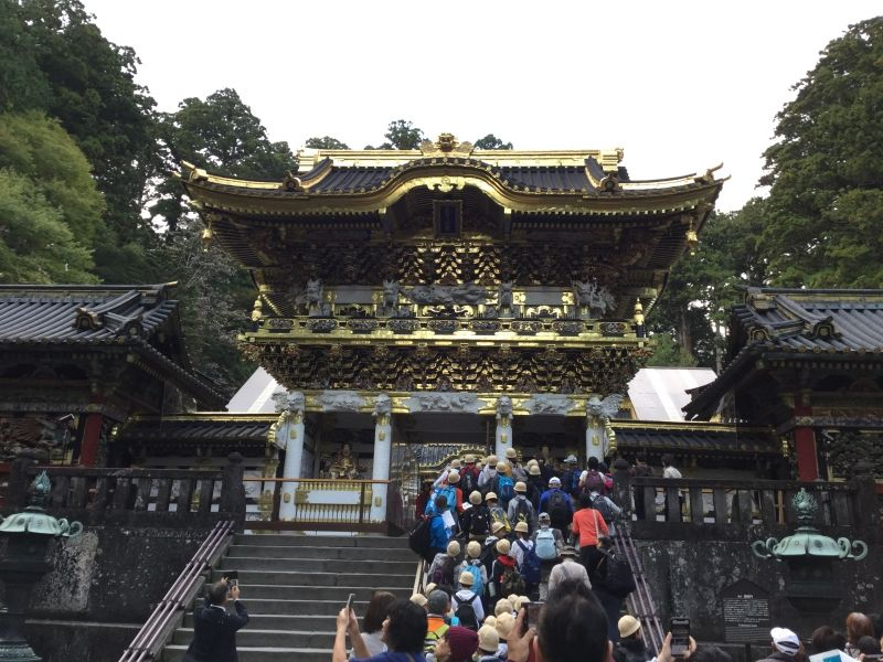 Nikko tour, Yomeimon-Gate