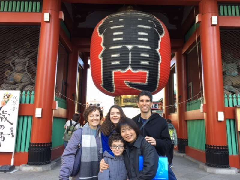 my lovely clients enjoyed old Tokyo to the fullest, Sensoji Temple (Texas, USA)