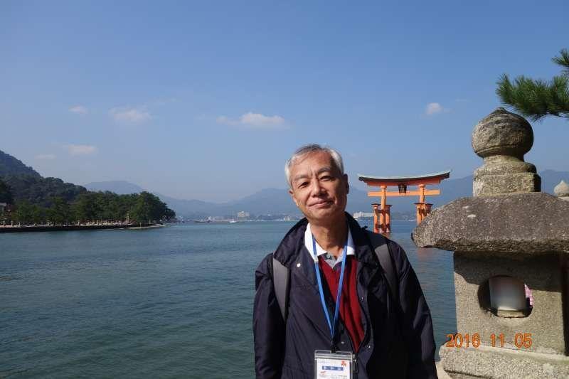 This picture was taken at Miyajima in Hiroshima pref.