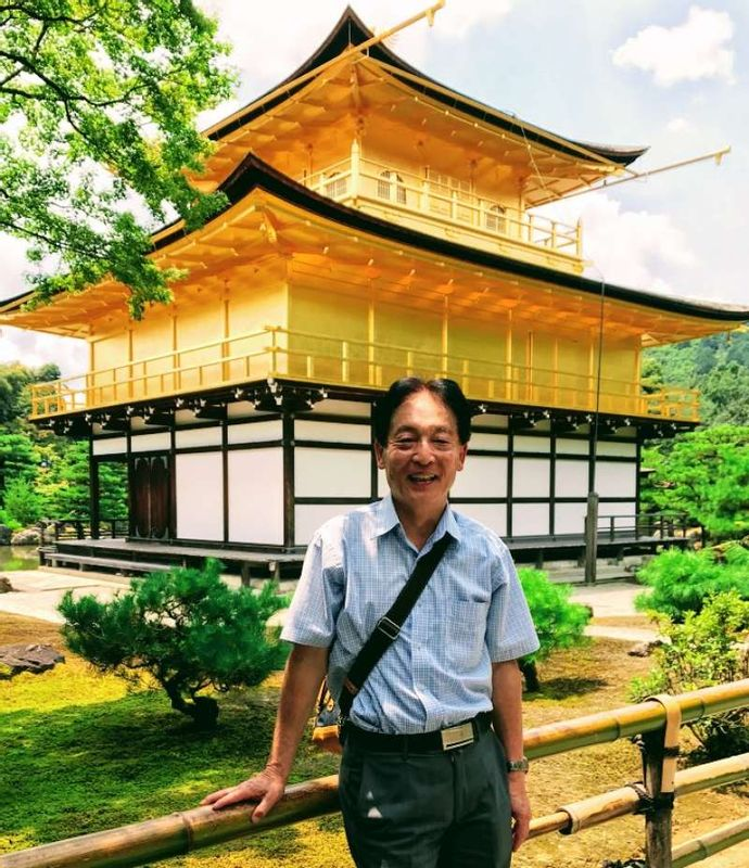 Even it is super busy through the year, it is worth visiting Golden temple in Kyoto. In medieval time 14th century, Samurai leader Shogun, Ashikaga clan, erected as a building of culture and business center. After it was converted to Zen temple.